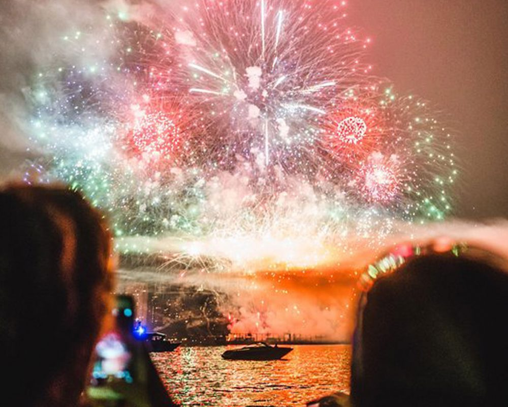 Vancouver Fire Work Cruises