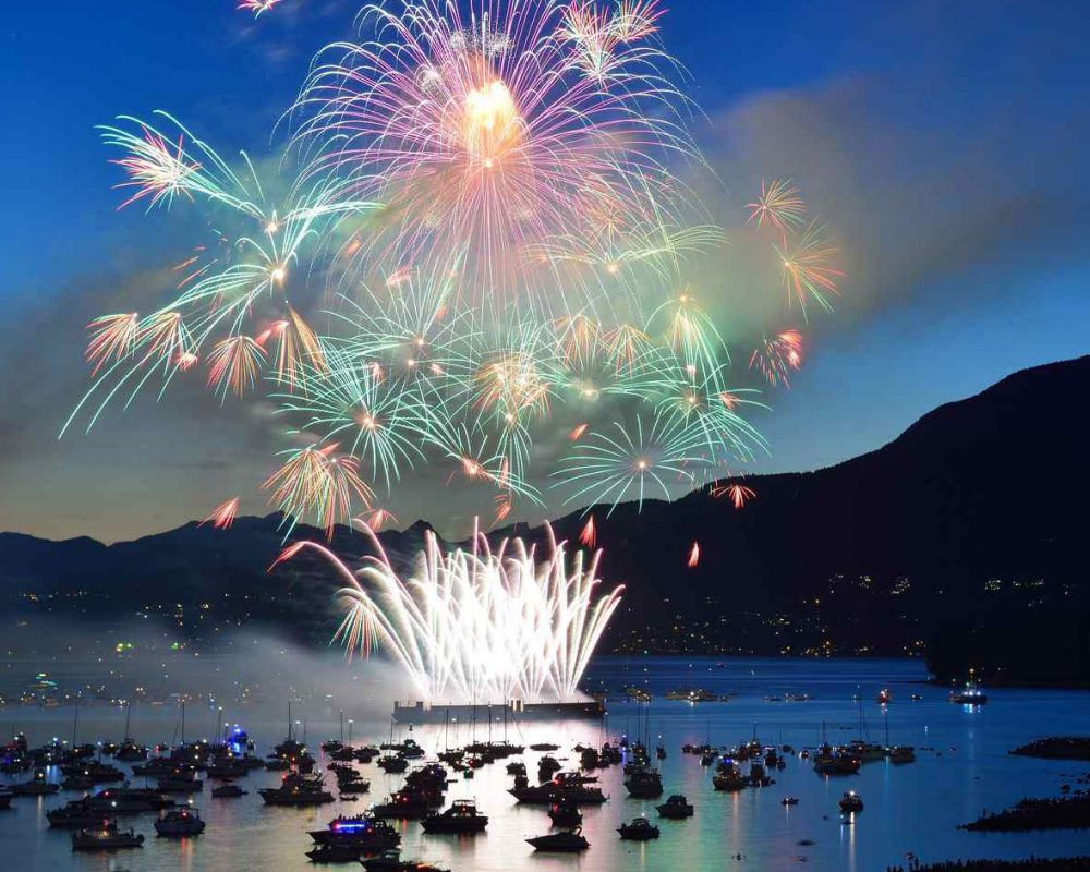 Vancouver Fire Works Cruises